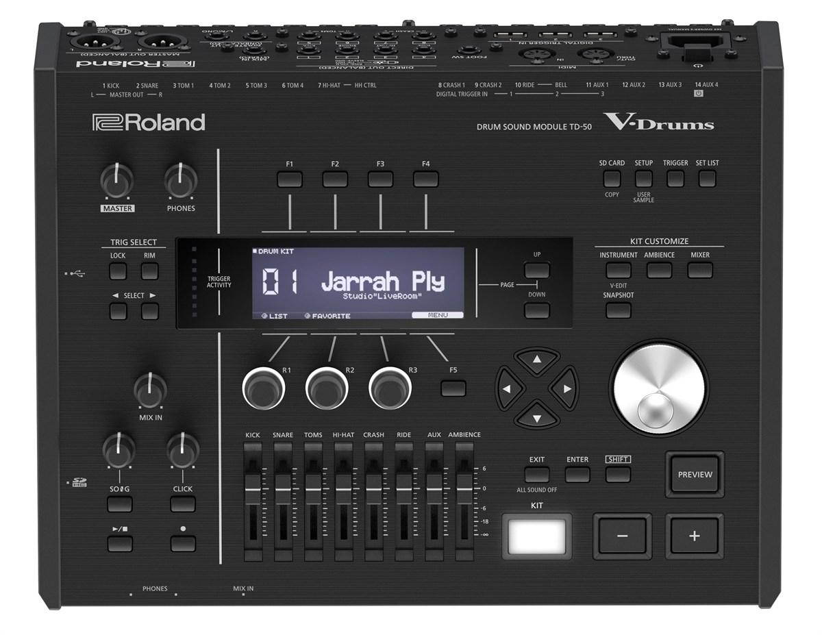 roland td 50 patches presets and sound design. Black Bedroom Furniture Sets. Home Design Ideas