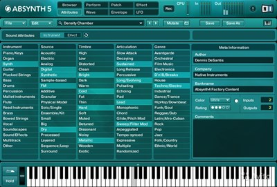 NI Absynth Patches, Presets and Sound Design